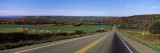 Road Passing Through a Landscape, Finger Lakes, New York State, USA Wall Decal by  Panoramic Images