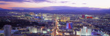 Dusk Las Vegas Nv, USA Wall Decal by  Panoramic Images