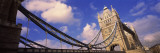 View of a Bridge, Tower Bridge, London, England Wall Decal by Panoramic Images