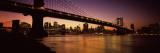 Manhattan Bridge, Lower Manhattan, New York City, New York State, USA Wall Decal by  Panoramic Images