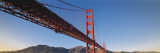 Low Angle View of a Suspension Bridge, Golden Gate Bridge, San Francisco, Marin County Wall Decal by  Panoramic Images