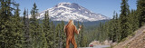 Sasquatch Hitchhiking, Oregon, USA Wall Decal by  Panoramic Images