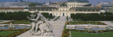 Garden in Front of a Palace, Belvedere Gardens, Vienna, Austria Wall Decal by  Panoramic Images