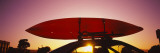 Close-up of a Kayak on a Car Roof at Sunset, San Francisco, California, USA Wall Decal by  Panoramic Images