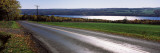 Telephone Pole on the Roadside, Rockefeller Road, Finger Lakes, New York State, USA Wall Decal by  Panoramic Images