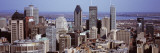 Aerial View of Buildings in a City, Montreal, Quebec, Canada Wall Decal by  Panoramic Images
