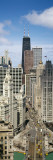 Skyscrapers in Michigan Avenue, Chicago, Illinois, USA Wall Decal by  Panoramic Images