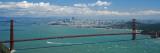 San Francisco, Kalifornien Wandtattoo von Jerry Driendl