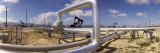 Pipelines on a Landscape, Taft, Kern County, California, USA Wall Decal by  Panoramic Images
