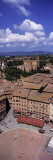 View of Buildings in a City, Piazza Del Campo, Siena, Siena Province, Tuscany, Italy Wall Decal by  Panoramic Images