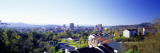 Daytime City Skyline Asheville Nc, USA Wall Decal by  Panoramic Images