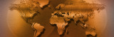 Close-up of Map of World Wall Decal by Panoramic Images 