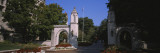 Entrance Gate of a University, Sample Gates, Indiana University, Bloomington, Indiana, USA Wall Decal by  Panoramic Images