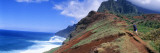 Adult Hiking Up a Mountain, Kalalau Trail , Na Pali Coast, Kauai, Hawaiis Wall Decal by  Panoramic Images