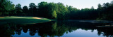 Pond in Golf Course, Golden Eagle Golf Course, the Tides Inn, Irvington, Lancaster County, Virginia Wall Decal by  Panoramic Images