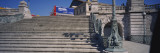 Staircase Leading Towards a Railroad Station, St. Charles Train Station, Marseille, France Wall Decal by  Panoramic Images