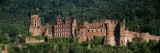 Castle on a Hillside, Heidelberg, Baden-Wurttemberg, Germany Wall Decal by  Panoramic Images