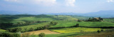 View of Fields, Val D'Orcia, Tuscany, Italy Wall Decal by  Panoramic Images