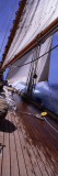 Sailboat in the Sea, Antigua, Antigua and Barbuda Wall Decal by  Panoramic Images