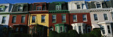 Row Houses Philadelphia, PA Wall Decal by  Panoramic Images