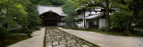 Footpath Leading Towards a Temple, Nanzenji Temple, Kyoto, Honshu, Japan Wall Decal by  Panoramic Images