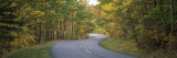 Road Passing Through a Forest, Park Loop Road, Acadia National Park, Hancock County, Maine, USA Wall Decal by  Panoramic Images