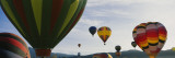 Hot Air Balloons in the Sky, Taos, New Mexico, USA Wall Decal by  Panoramic Images