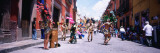 Aztec Street Dancers Dancing on the Street, San Miguel de Allende, Guanajuato, Mexico Wall Decal by Panoramic Images 