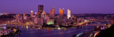 Dusk Pittsburgh Pa, USA Wall Decal by  Panoramic Images