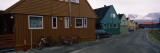 Buildings at the Roadside, Longyearbyen, Spitsbergen, Svalbard Islands, Norway Wall Decal by  Panoramic Images