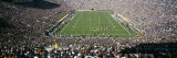 Aerial View of a Football Stadium, Notre Dame Stadium, Notre Dame, Indiana, USA Wall Decal by  Panoramic Images