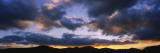 Clouds over Mountains at Dusk, Stowe, Lamoille County, Vermont, USA Wall Decal by  Panoramic Images