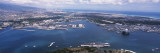 Aerial View of a Harbor, Pearl Harbor, Honolulu, Oahu, Hawaii, USA Wall Decal by  Panoramic Images