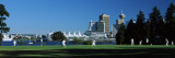 Group of People Playing Cricket in a Park, Vancouver, British Columbia, Canada Wall Decal by  Panoramic Images