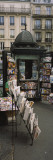 Newsstand on a Street, Paris, France Wall Decal by  Panoramic Images