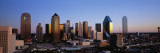 Texas, Dallas, Sunrise Wall Decal by  Panoramic Images
