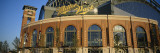 View of a Stadium, Major League Baseball, Miller Park, Milwaukee, Wisconsin, USA Wall Decal by  Panoramic Images