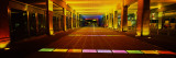 Shops under a Bridge Lit Up at Night, Brabant Bridge, Brussels, Belgium Wall Decal by  Panoramic Images