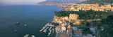 View of a Town at the Coast, Sorrento, Naples, Campania, Italy Wall Decal by Panoramic Images 