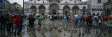 Tourists at a Town Square, St. Mark's Square, Venice, Veneto, Italy Wall Decal by  Panoramic Images