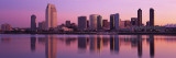 California, San Diego, Twiilight Autocollant mural par  Panoramic Images