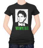 Juniors: Charlie Sheen - Winning T-shirts