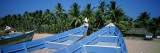 Boats on the Beach, Guruvayur, Thrissur District, Kerala, India Wall Decal by  Panoramic Images