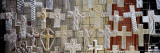 Large Group of Crucifixes, San Miguel de Allende, Guanajuato, Mexico Wall Decal by Panoramic Images 