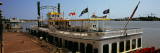 Creole Queen Riverboat Moored at a Dock, New Orleans, Louisiana, USA Wall Decal by  Panoramic Images