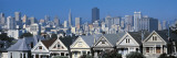 Victorian Houses Steiner Street, San Francisco, CA, USA Wall Decal by  Panoramic Images