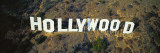 California, Los Angeles, Aerial View of Hollywood Sign at Hollywood Hills Wall Decal by  Panoramic Images