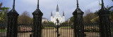 Facade of a Church, St. Louis Cathedral, New Orleans, Louisiana, USA Wall Decal by  Panoramic Images