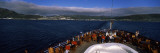 Tourists on a Cruise Ship, Hammerfest, Finnmark County, Norway Wall Decal by Panoramic Images
