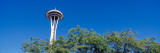 View of a Tower, Space Needle, Seattle Center, Seattle, King County, Washington State, USA Wall Decal by  Panoramic Images